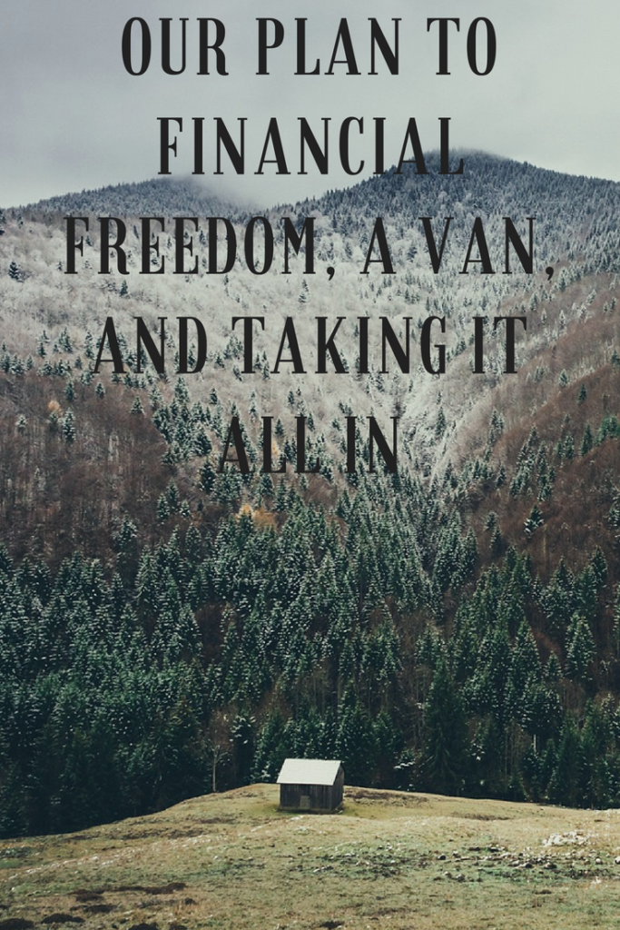 My wife and I just couldn't wrap our heads around traditional retirement. This is our journey to financial freedom, a van, and taking it all in. #vanlife | early retirement | blogging | blogger | ford transit |