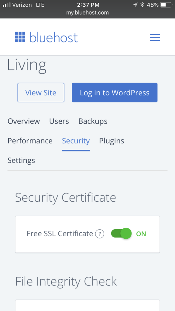 "Are you HTTPS compliant? Starting July 1st Google is requiring this standard or your site will be flagged as ""unsecure."" This could be devastating to your site. It's easier than you think. I'll show you how easy it is on Bluehost. #HTTPS 