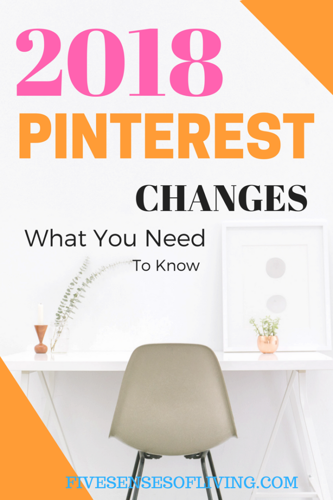Staying up-to-date with Pinterest is more important than ever. Understanding the 2018 algorithm change is crucial to your success. #pinterest #blogging | update | algorithm | blogging | tailwind | 5 pin |