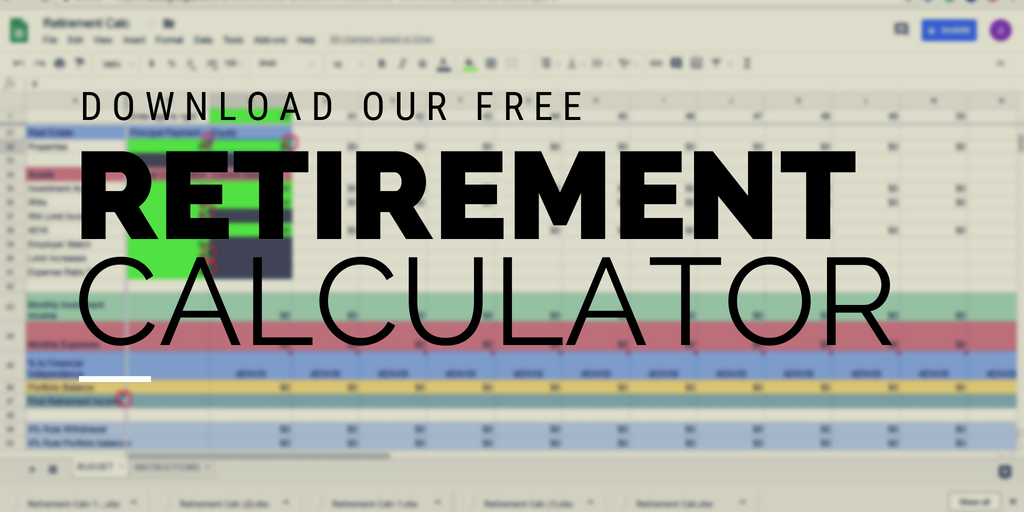 Download your free retirement and budget calculator