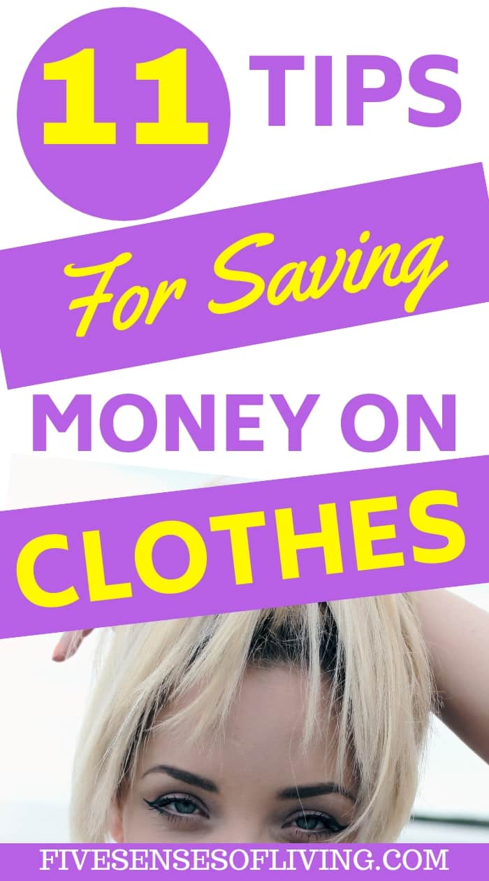 Must know tips and tricks for when you realize your clothing budget doesn't meet your goals. These are the best tricks to help you save money on clothes