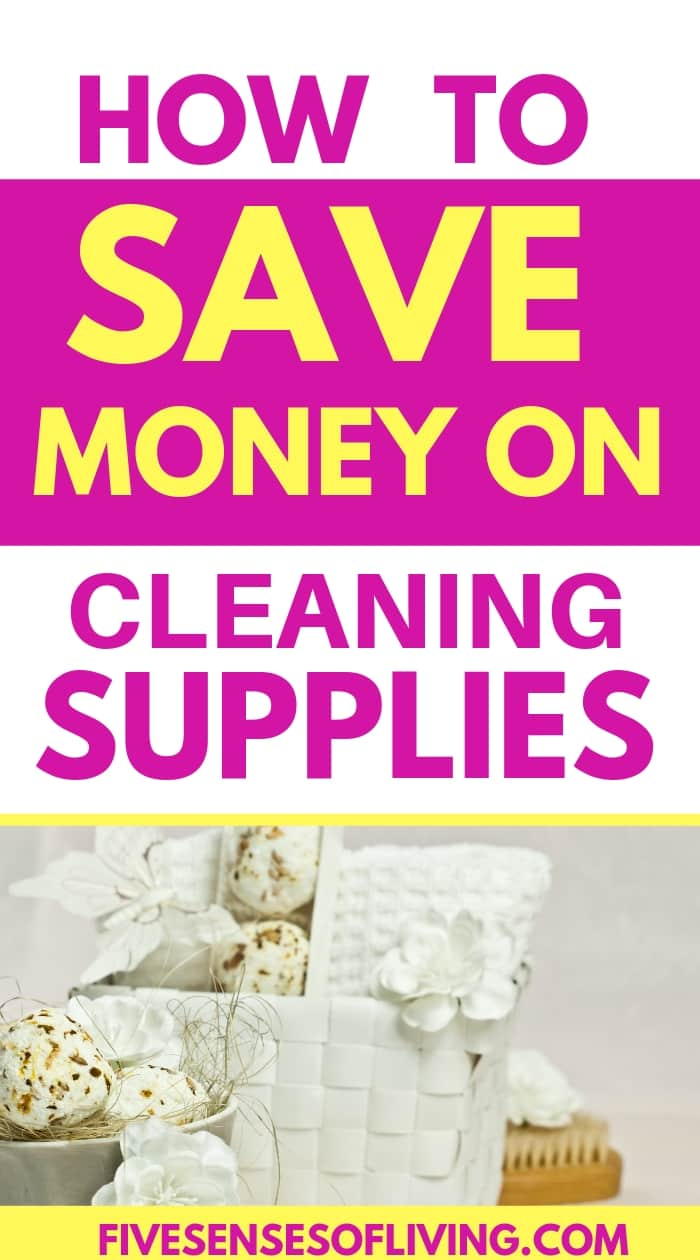 Save money on cleaning supplies