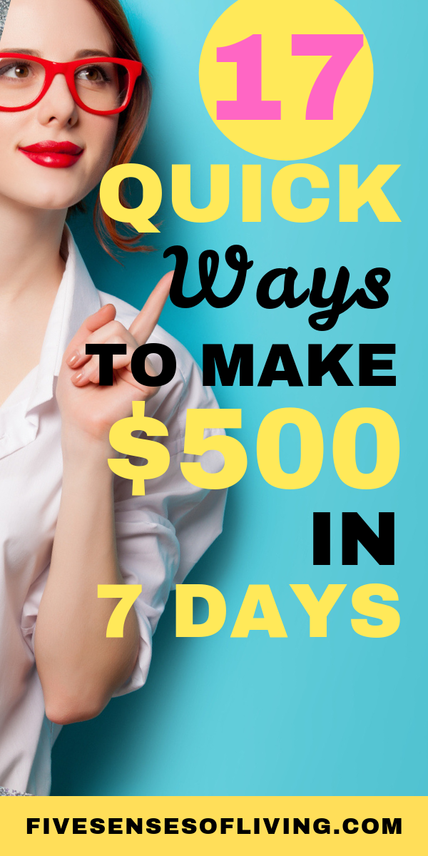 17 Ways to make money fast