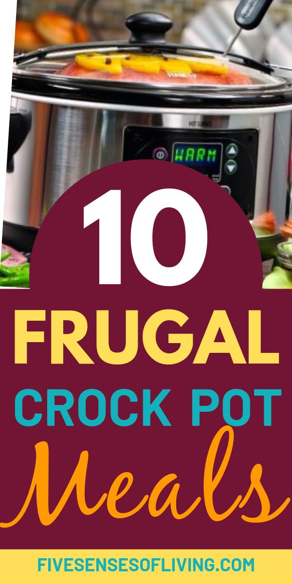 Frugal Crock Pot Dinners