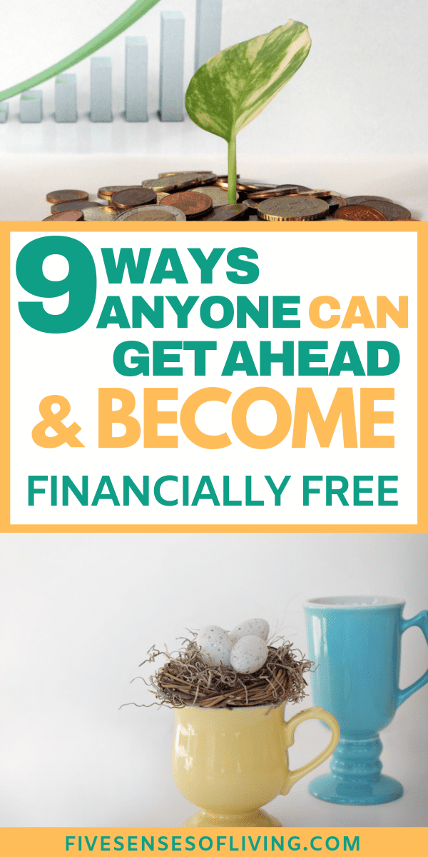 Debt Free Dont let debt stand in your way of financial freedom.  Follow these 9 tips now to help you get out of debt for GOOD.  These are incredible and will change your life.    #debtfree #getoutofdebt #debt