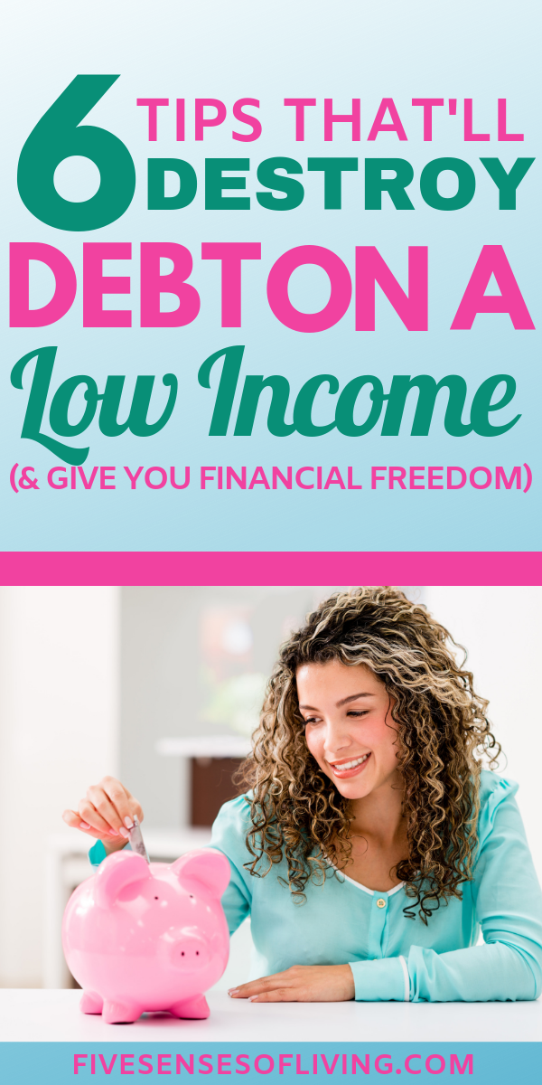 money management tips to destroy debt and create a life of freedom