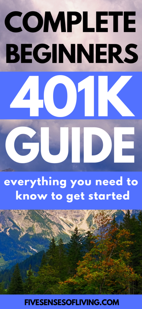 401(k) plans are a great retirement option you should be taking advantage of. Understanding 401(k) plans does not have to be confusing or even difficult. This guide breaks everything down for you in an easy to understand way that allows you to know what is happening with your money once you invest it. #investing #401(k)plans @fivesensesofliving.com
