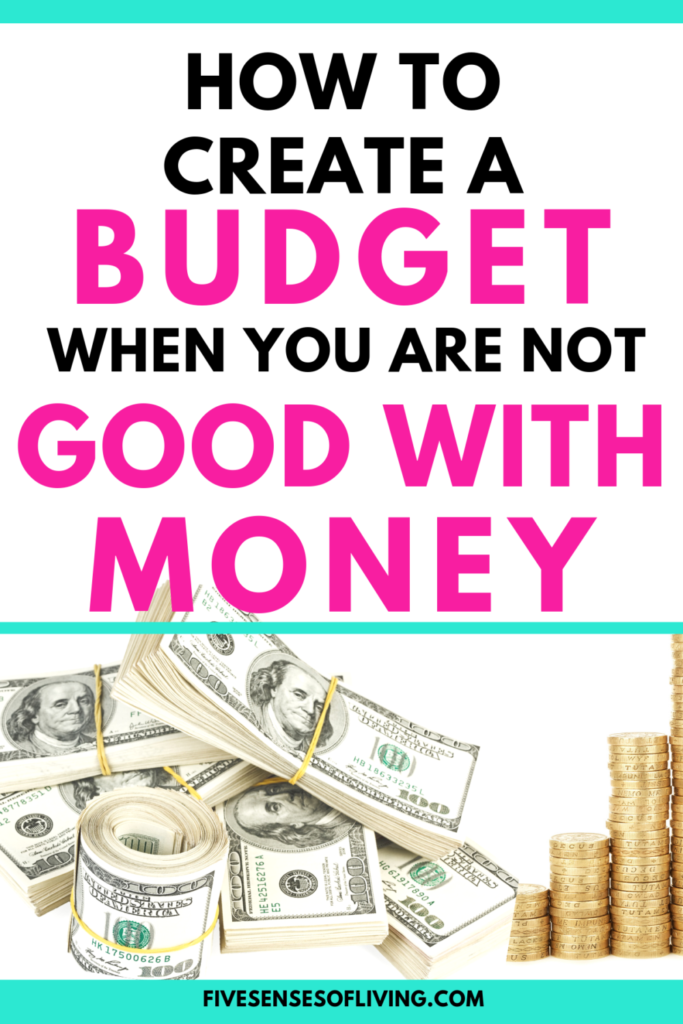 How to start a budget even when you aren't good with money. This will teach you everything you need to know about creating a budget and saving money today, its really easy when you know how! #Budgetforbeginners #budgetprintables #budgettips #savingmoney #budgetingfinances #planner