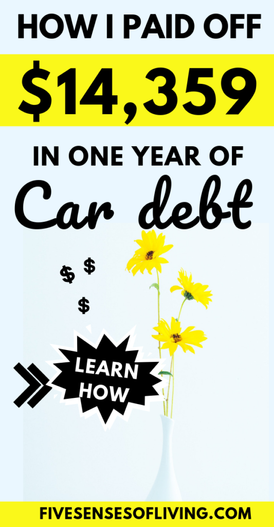 how to get out of car debt fast