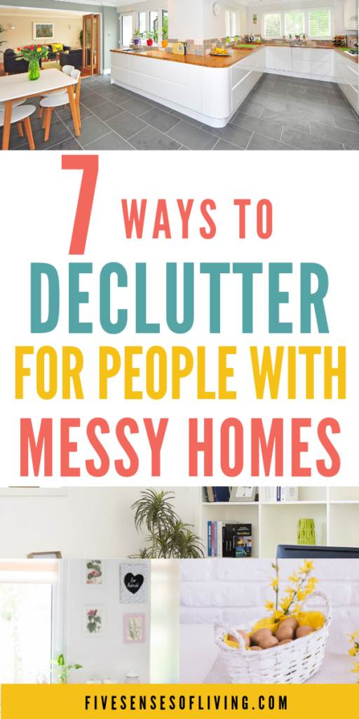 Start decluttering your house today