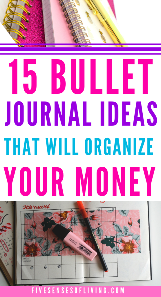 15 bullet journal ideas for getting your finances under control