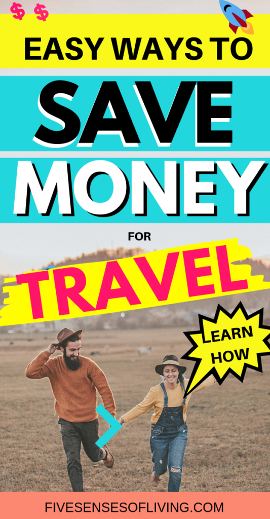 Travel hacks to save money on travel. Learn how to save money to afford the vacation of your dreams #savemoney #howtosavemoney #travel