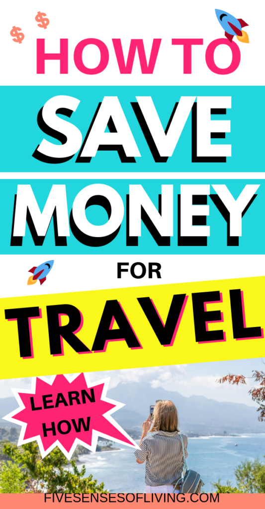 Are you trying to save money for travel but not sure where to begin? Check out these amazing tip and hacks to help you save money for your next vacation that you probably haven't heard of before.  We've used these same tip to save money for vacation and want to help you do the same. Save these money saving tips to your board so you can find them later #travel #savemoney #vacation