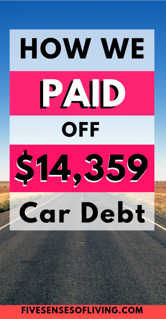 get out of car debt