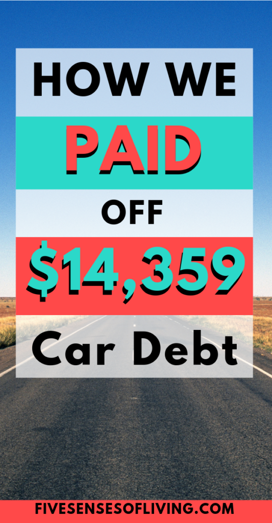 How to pay off your car loan fast. Become debt free in less than a year #debtfree