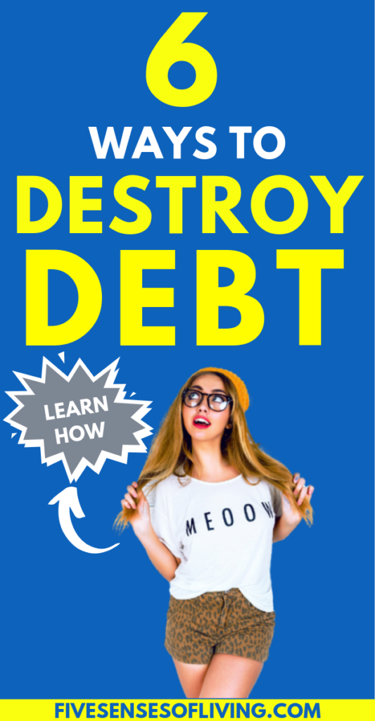 Find out how you should be paying off debt so you can get out fast and painlessly. This is your guide to getting out of debt made simple. WHILE still enjoying your life and money! There's no need to live on the bare minimum while achieve debt payoff. Become debt free, while saving money, while living your life to the fullest!