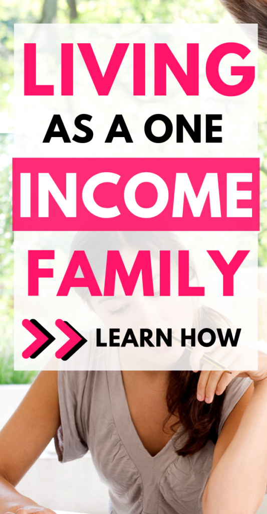 I've been searching for great and frugal ways to live as a one income family. I'm so happy I came across this post that gives me great info about how to afford living off one income. It's really not as difficult as one may think